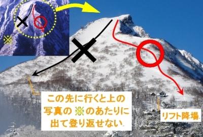雪山マップ